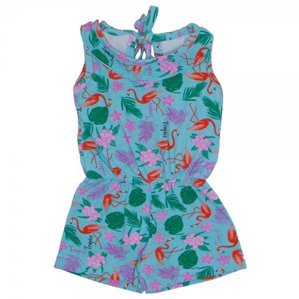 macaquinho com babado cotton flamingo verde agua 4200 01