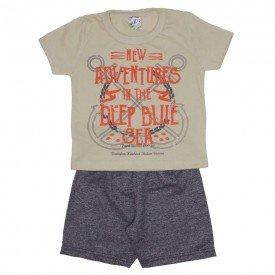 conjunto menino camiseta off adventures e bermuda de moletinho mescla 0316 02