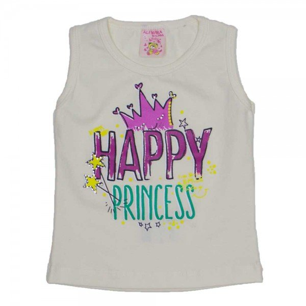 regata de cotton off white happy princess com strass 2475