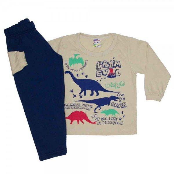 conjunto menino inverno dinossauro off 0331