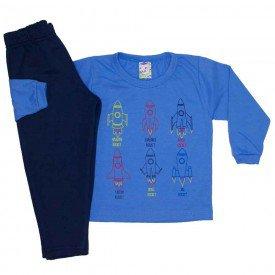 conjunto menino inverno foguetes azul claro 0332