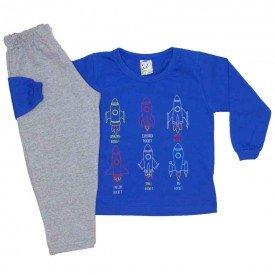 conjunto menino inverno foguetes azul royal 0332