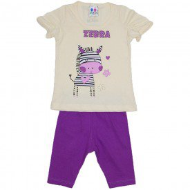 conjunto menina off silk zebra com legging wkd 197 off 01