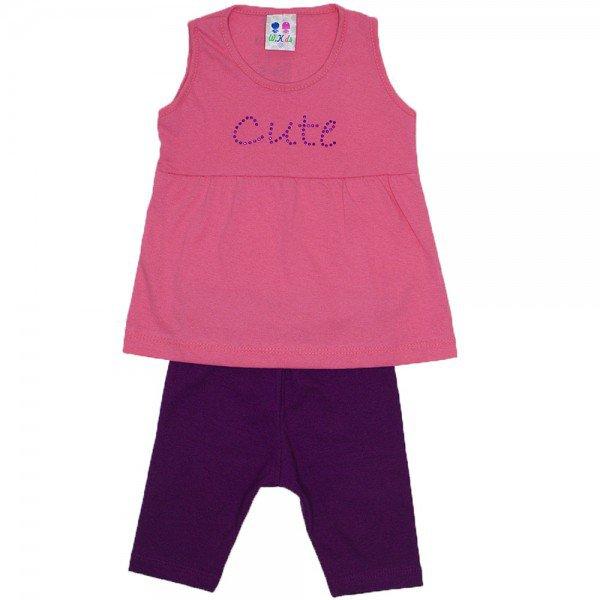 conjunto menina baby papoula com strass e ciclista roxo wkd 194 pap 02