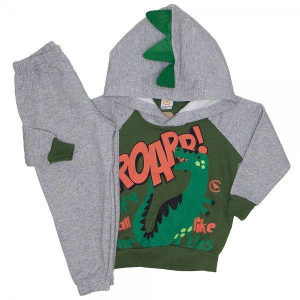 conjunto inverno casaco e calca na cor verde 8818