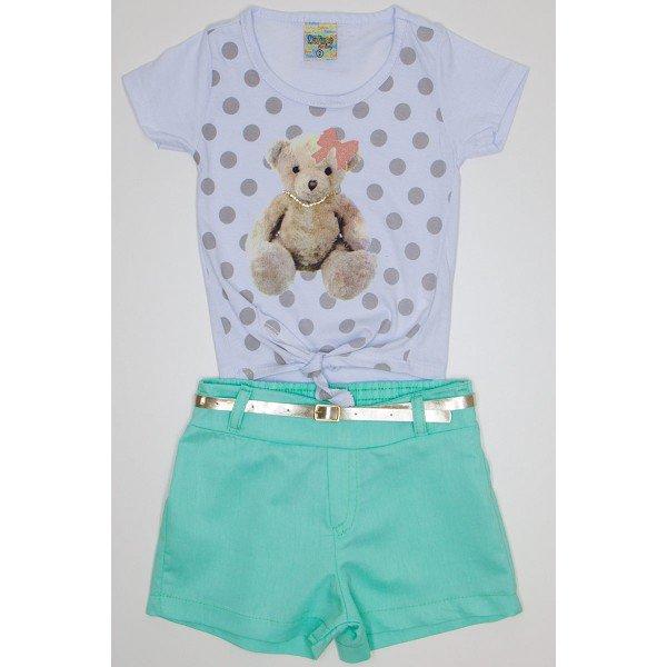 conjunto branco verde de meia malha e shorts sarja did 7560 bra 01