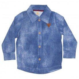 camisa manga longa jeans 8800 01