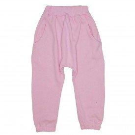 calca saruel com bolso na cor rosa 9502