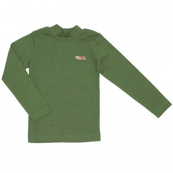 blusa basiquinha ribana verde militar 8805