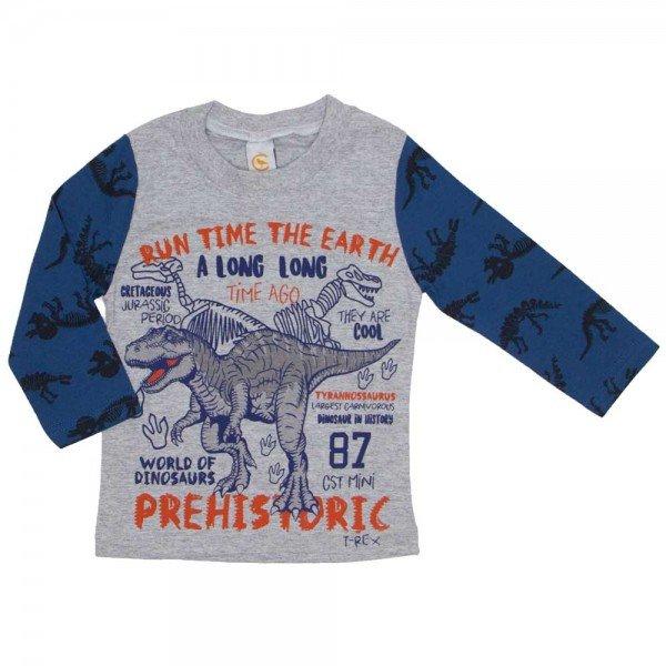 camiseta dinossauro prehistoric mescla 8806 01