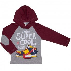 camiseta infantil super cool mescla 8811 01
