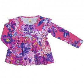 blusa bata power flower rosa 8906 01