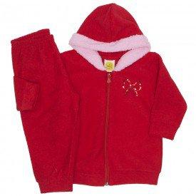 conjunto boucle princesa vermelho 9502