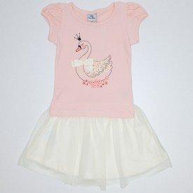 conjunto cottontule cisne glitter car 3363 sal 01
