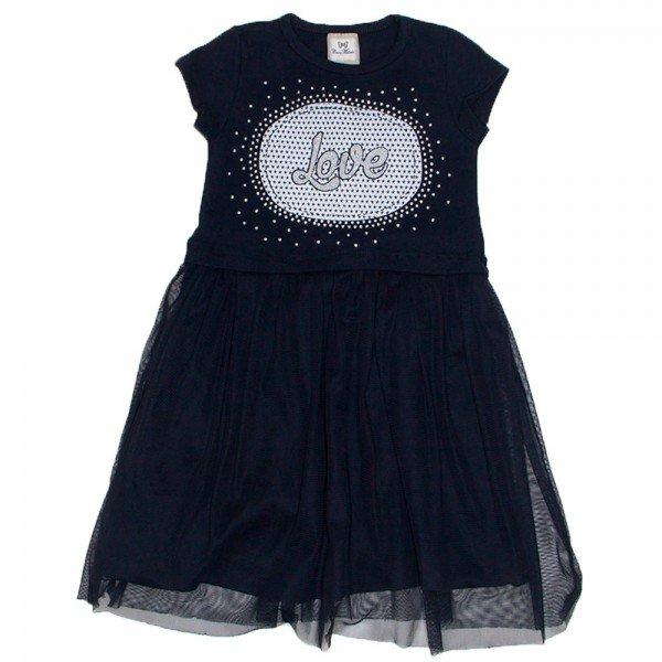 vestido love strass cottontule preto car 3354 pre 01