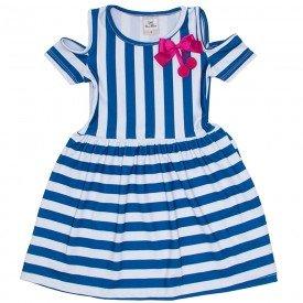vestido suplex listrado azul car 3341 azu 01