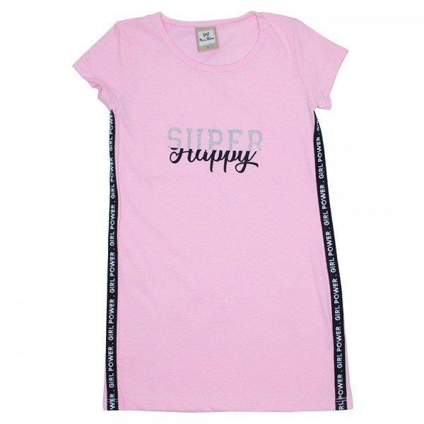 vestido meia malha happy rosa car 3338 ros 01