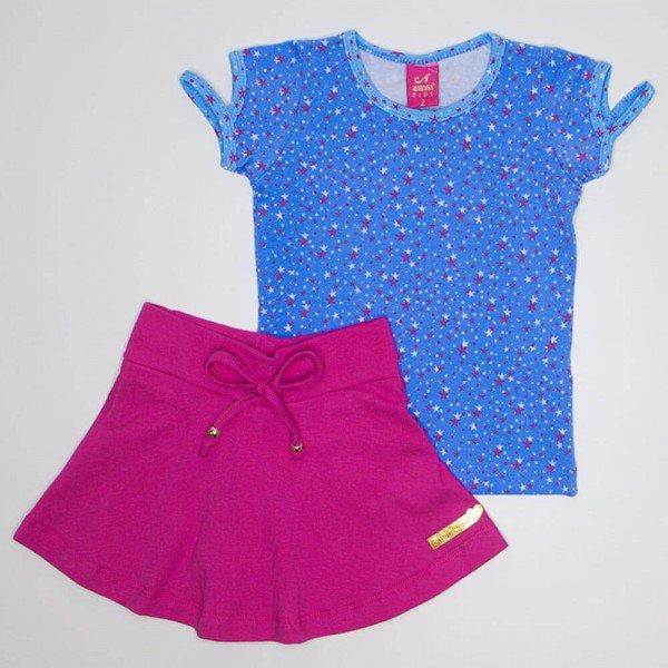conjunto baby look azul com shorts saia azul ana 3517 azu 02