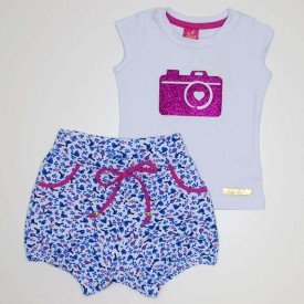 conjunto baby look camera branco cotton e shorts azul ana 3516 azu 02