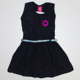 vestido cotton com glitter preto ana 3520 pre 01