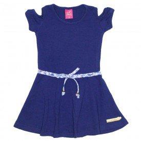 vestido cotton rodado azul marinho 3522 ana 3522 azm 01