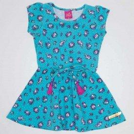 vestido cotton rodado de unicornio verde ana 3523 vrd 01