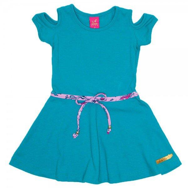 vestido cotton rodado verde ana 3522 azm 01