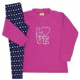 conjunto boucle love pink 9521