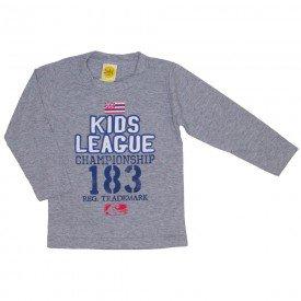 camiseta kids league mescla 9523