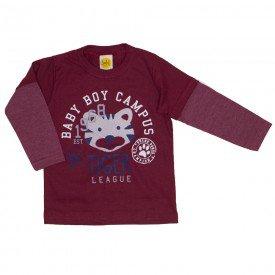 Camiseta Tiger League Vermelho 9524