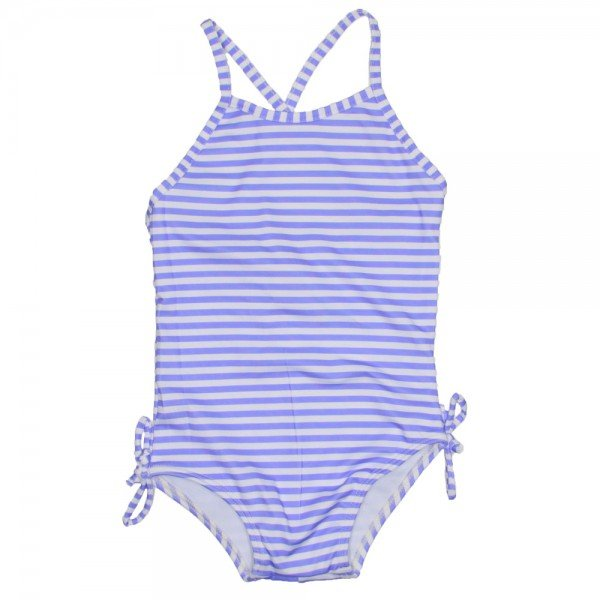 801979c52b7e maio infantil listrado azul com lacinho na lateral
