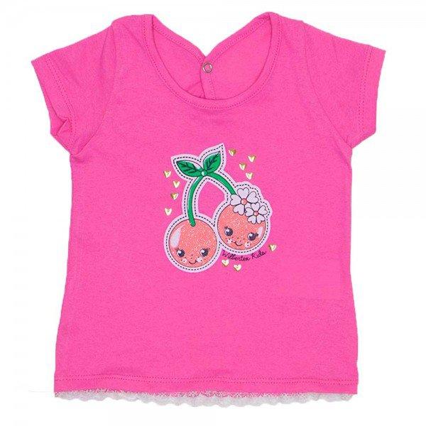 blusa feminina meia malha rosa silk cereja com renda wil 3862 ros 01