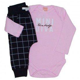 conjunto body e saruel mini diva rosa 0047 01