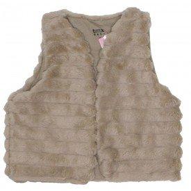 colete bebe menina polar marrom claro 0051 01
