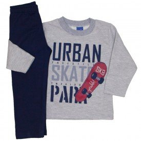 conjunto moletom urban skate mescla 5275