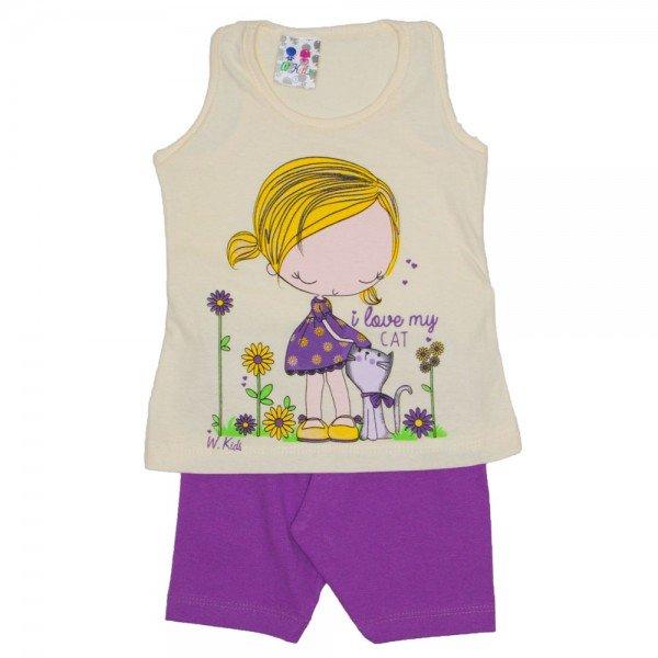 conjunto menina off legging lilas wkd 131 off 01 02