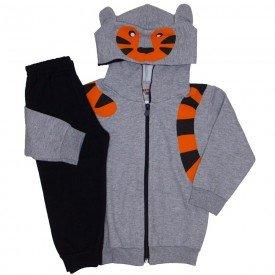 d1a35bc0a conjunto jaqueta e calca de moletom mescla 3670