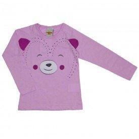 blusa meia malha rosa 3622