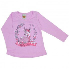 blusa meia malha rosa 3621