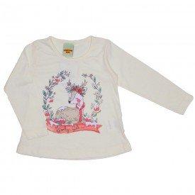 blusa meia malha off white 3621