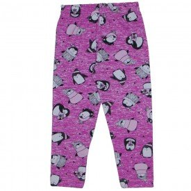 legging de cotton pink estampada 3712