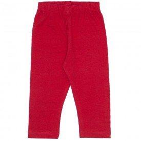 legging de cotton vermelha 3709