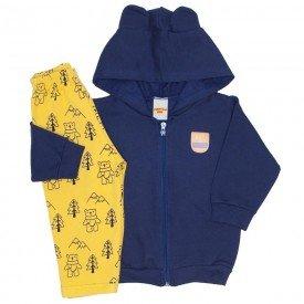 d9589f992 conjunto jaqueta e calca de moletom marinho 3658