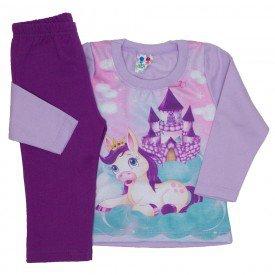 conjunto blusa de moletom lilas e calca uva 352