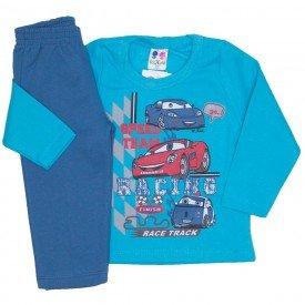 conjunto de moletom blusa verde e calca azul jeans 363