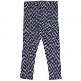 legging de molecotton peluciado cinza etnico geometrico 1183