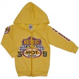 jaqueta de moletom amarelo pacoca 3681