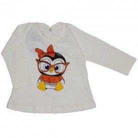 blusa meia malha off pinguim 3606