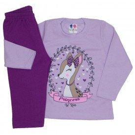 conjunto blusa de moletom lilas e calca uva 351