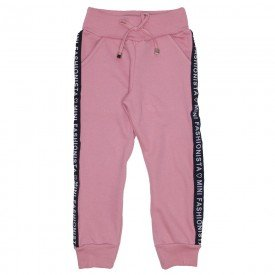 calca jogger rosa mini fashionista 1182